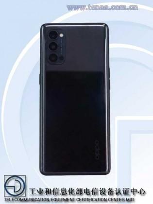 Reno4 Pro in black