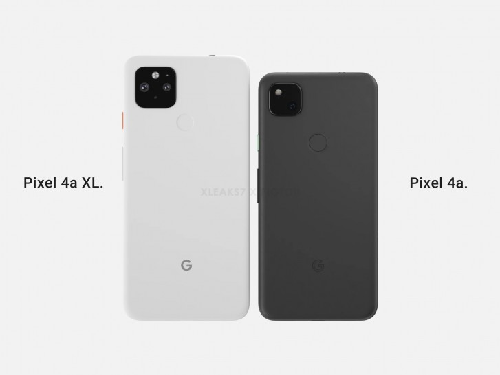 Pixel 4a XL back cover shows the dual camera that wasn't meant to be
