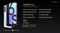 Feature/price comparison: Realme 6s