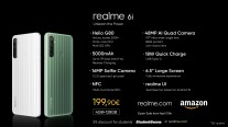 Feature/price comparison: Realme 6