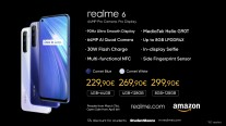 Feature/price comparison: Realme 6i