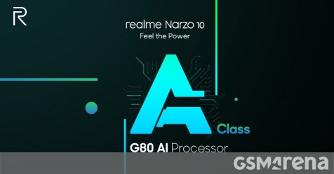 Realme Narzo 10 officially confirmed to pack Helio G80 SoC