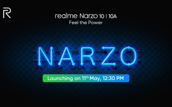 Realme Narzo 10 series launch set for May 11
