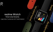 Realme Watch design and features revealed: color touchscreen, camera control, and heart rate monitor