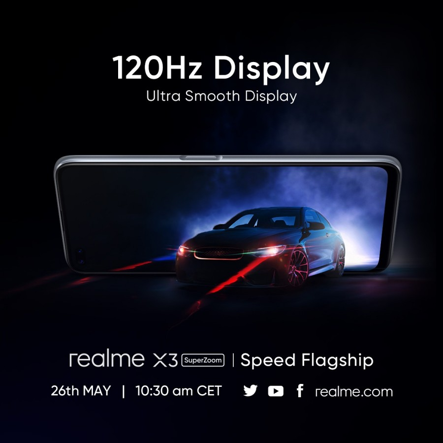 Realme X3 Superzoom S Specs Confirmed In A Series Of New Teasers