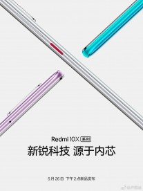 The Redmi 10X is coming on May 26