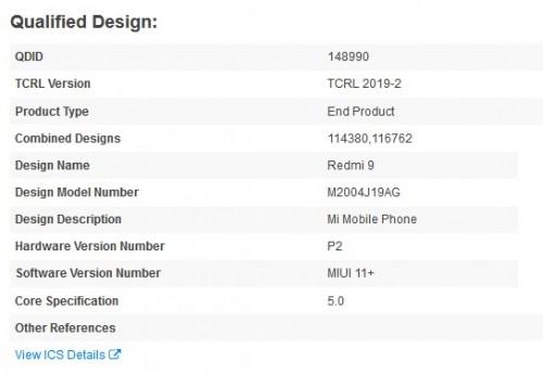 Redmi 9 mendapatkan sertifikasi Bluetooth SIG, segera diluncurkan