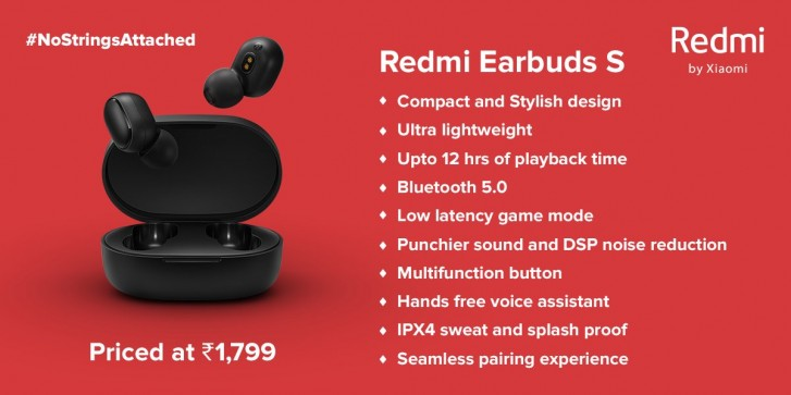 Redmi Earbuds S launch in India tomorrow, rebranded AirDots S