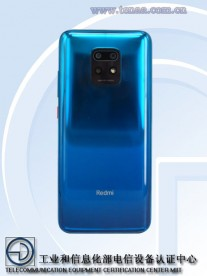 Redmi Note 10 (photos by TENAA)