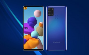 Samsung Galaxy A21s goes on sale in Russia