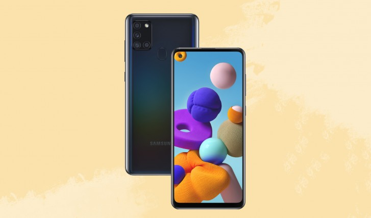Samsung Galaxy A21s now official