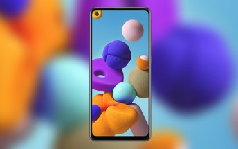 Leaked Samsung Galaxy A21s render shows a familiar design