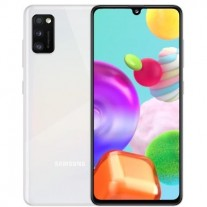 Galaxy A41 in Prism Crush White color