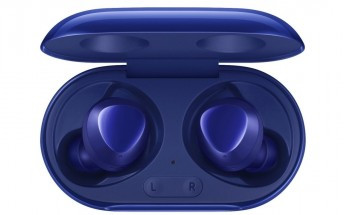 Samsung Galaxy Buds+ surface in a new Aura Blue color
