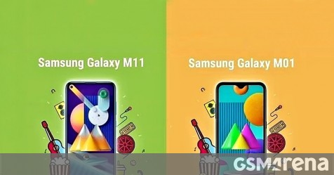 Samsung Galaxy M01 and M11 launching in India on June 2