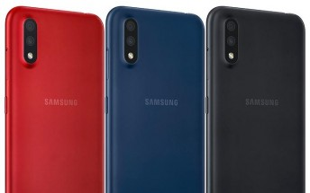 Samsung Galaxy M01 schematic leaks with specs and dimensions