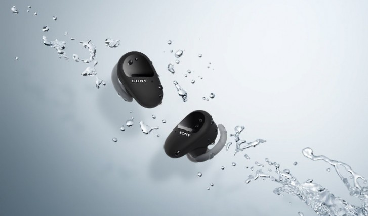 Sony WF-SP800N TWS earbuds come with active noise cancelation and up to 26 hours of battery life
