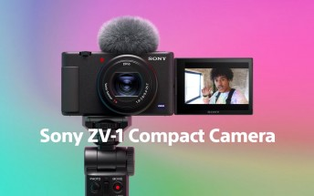 Sony launches ZV-1 compact camera for content creators and vloggers