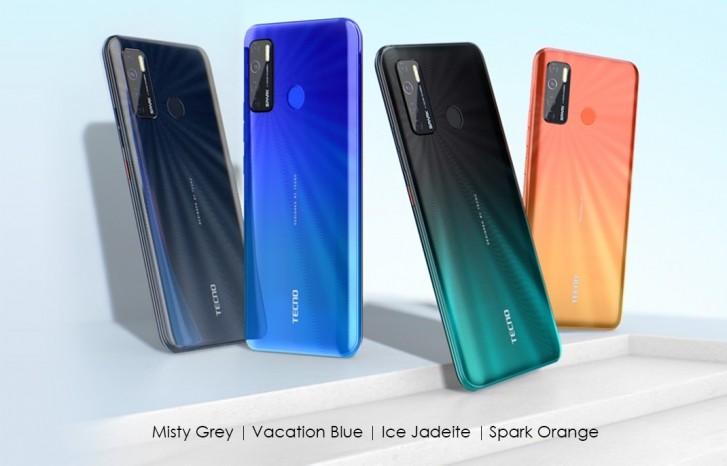 تم الكشف عن Tecno Spark 5 بنظام التشغيل Android 10 ، وشاشة مقاس 6.6 بوصات ، وكاميرا رباعية ، وفلاش LED رباعي