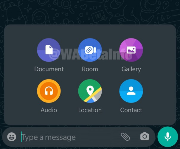 WhatsApp for Android gets Facebook Messenger Rooms integration with the latest beta