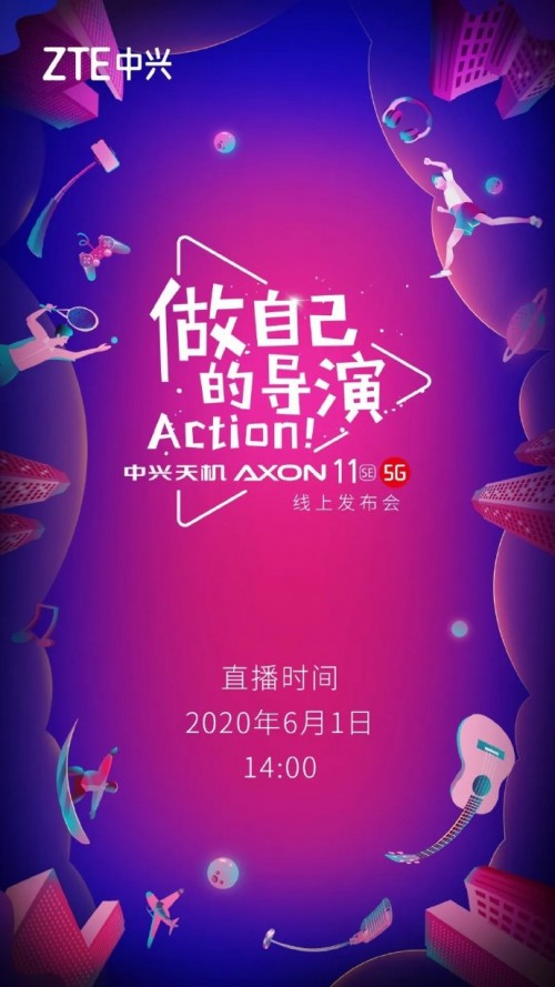 ZTE confirms June 1 as Axon 11 SE
