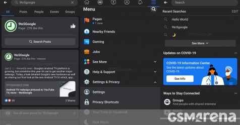 Facebook Dark mode finally nearing release