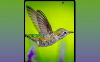Samsung Galaxy Fold 2 render shows punch-hole design