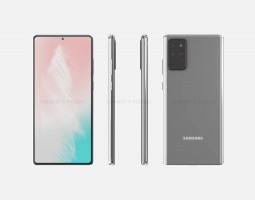 Samsung Galaxy Note20 renders