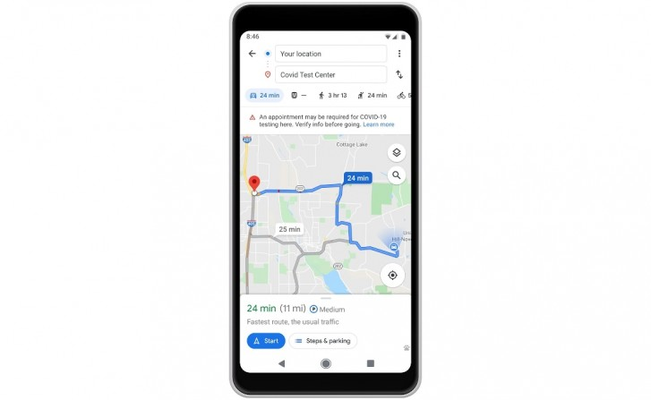 Google Maps brings COVID-19 restrictions-related updates to navigation