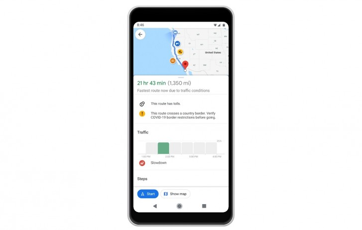 Google Maps Brings Covid 19 Related Updates To Navigation Gsmarena Com News