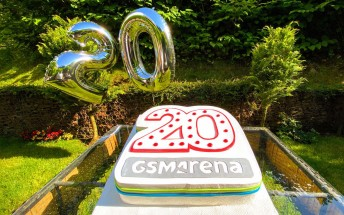 GSMArena.com turns 20, happy birthday to us!