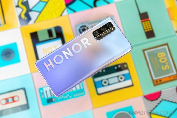 Honor 30 Pro+ in for review