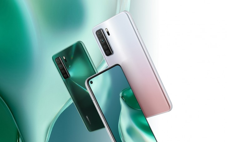 The same phone with the name Huawei P40 Lite 5G