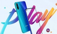 Honor Play 4e image and specs surface
