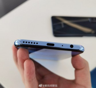 Honor X10 Max 5G top and bottom