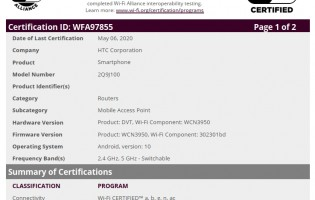 Bluetooth & Wi-Fi certifications