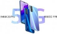 Huawei Enjoy 20 Pro full specs leak
