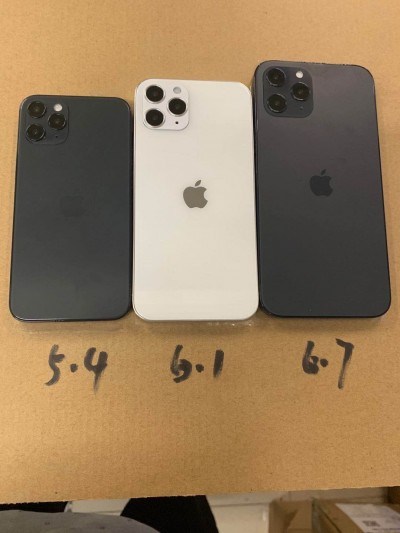 iPhone 12 dummies fully reveal the back design