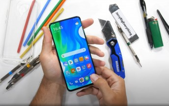 Poco F2 Pro undergoes durability test, the pop-up selfie camera takes a beating