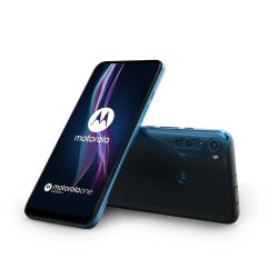 Motorola One Fusion+ in Twilight Blue
