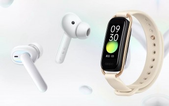 Oppo unveils Enco W51 headset with ANC, smart Band with 50m water resistance