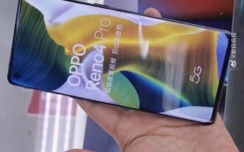 Live photos show Oppo Reno4 5G and Reno4 Pro 5G already in stores