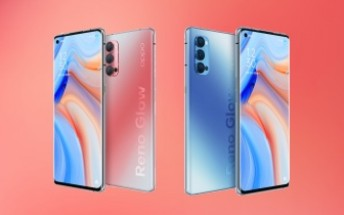 Oppo Reno4 Pro official images appear  in online listing
