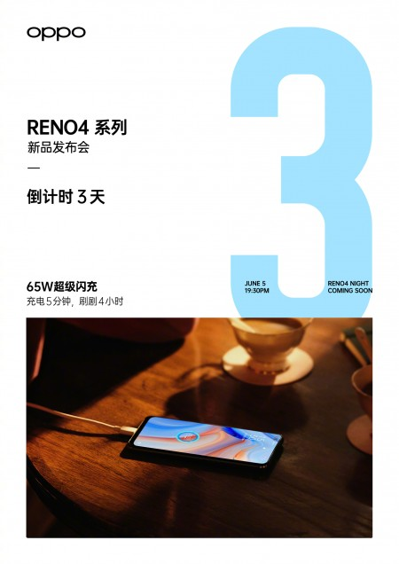 Oppo Reno4 Pro official renders emerge in online listing