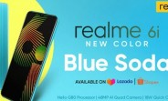 New Realme 6i Blue Soda color goes on sale