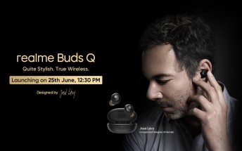 Realme Buds Q TWS earphones coming to India on June 25