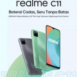 Realme C11 teasers