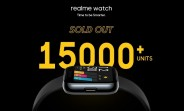 Realme Watch moves over 15,000 units within two minutes in first sale