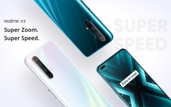 Realme X3 gets a new software update with optimizations and bug fixes