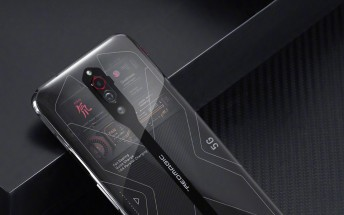 Red Magic 5G Transparent edition demos its fan on video, 16GB version stock incoming
